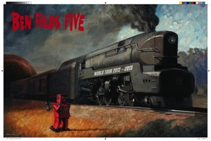 Ben Folds Five Litho