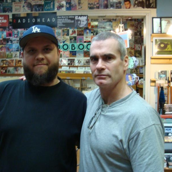 Frank & Henry Rollins of Black Flag